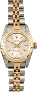 Rolex Lady Oyster Perpetual 67193 Silver Dial