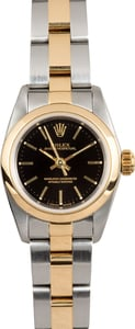 Rolex Lady Oyster Perpetual 67183 Smooth Bezel