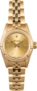 Rolex Lady Oyster Perpetual 67198 Honeycomb