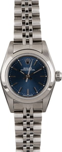 Rolex Oyster Perpetual 76080 Blue Dial