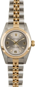 Rolex Oyster Perpetual 76183 Slate Dial