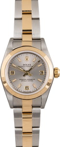 Rolex Lady Oyster Perpetual 76183 Slate Dial