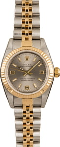 Rolex Ladies Oyster Perpetual 76193 Two-Tone