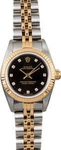 Rolex Lady Oyster Perpetual 76193 Diamond Dial