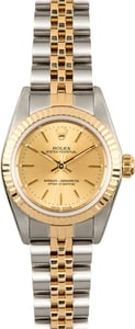 Rolex Lady Oyster Perpetual 76193 Two-Tone
