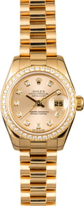 Ladies Rolex President 179138 with Diamonds