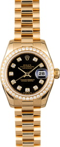 Rolex Lady President 179138 with Diamonds