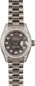 Rolex Lady President 179159 White Gold with Diamonds