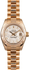 Used Rolex Datejust 179175 Meteorite Diamond Dial