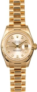 Rolex Ladies President 179178 Diamonds
