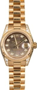 Rolex Lady President 179138 Diamond Mother of Pearl