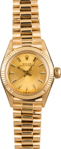 Pre-Owned Rolex Ladies President 6719