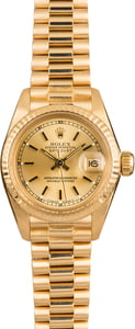 Pre-Owned Rolex Ladies President 6907