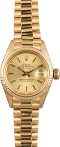 Rolex President 6917 Yellow Gold Champagne Dial