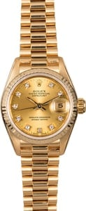 Rolex Ladies President 69178 Diamonds