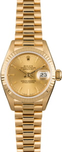 Rolex Lady President 69178 Yellow Gold