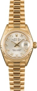 Pre Owned Rolex Ladies President Watch 69178