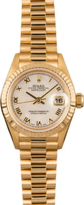 Rolex Ladies Datejust 69178 MOP Roman Dial