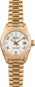 Rolex Gold Ladies President 69178