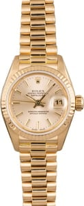 Pre Owned Rolex Lady President 69178