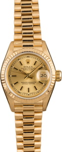 Pre-Owned 26MM Rolex Lady President 69178