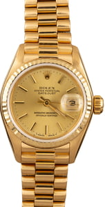 Women's Rolex Presidential Datejust 69178
