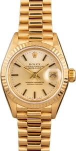 Pre-Owned Rolex Ladies President 69178