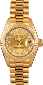 Rolex Lady-Datejust President 69178 Diamond
