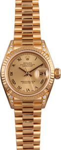 Rolex Lady President 79238 Diamond Lugs