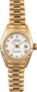 Used Rolex President 79178 Roman Dial