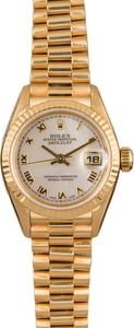 Used Rolex Ladies President 79178 MOP Roman Dial