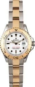Rolex Ladies YachtMaster 169623 White Dial