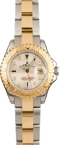 Pre-Owned Rolex Yacht-Master 169623 Mother of Pearl Diamond & Sapphire Dial