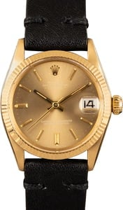 Rolex Date 6624 Yellow Gold