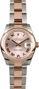 Rolex Mid-Size Datejust 178241 Everose Gold