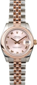 Rolex Mid-Size Datejust 178241 Rose Gold
