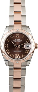 Rolex Datejust 178341 Chocolate Dial Two Tone Oyster