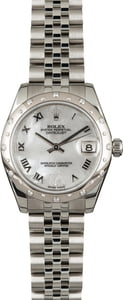 Pre Owned Rolex Datejust 31MM Diamond 178344