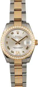 Used Rolex Datejust 178383 Diamond Bezel & VI