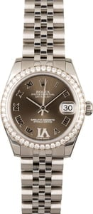Rolex Datejust 178384 Diamond Bezel & VI