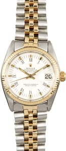 Rolex Mid-Size Datejust 6827 Two-Tone