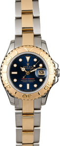 Rolex Mid-Size Yacht-Master 69623 Blue Dial