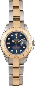 Pre Owned Rolex Mid-Size Yacht-Master 69623 Blue Dial