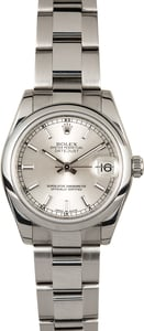 Rolex Mid-Size Datejust 178240 Oyster Perpetual