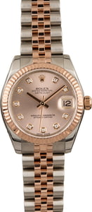 Pre Owned Rolex Datejust 178271 Diamond Dial