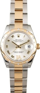 Rolex Datejust 178343 Diamond Bezel