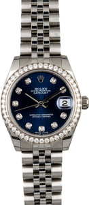 Mid-Size Rolex Datejust 178384 Diamonds