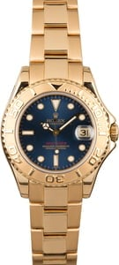 Rolex Yacht-Master 35 Mid-size 168628 18k Gold