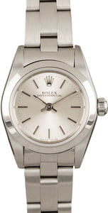 Ladies Rolex Oyster Perpetual 76080 Certified Pre-Owned