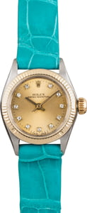 Used Ladies Rolex Oyster Perpetual 6619